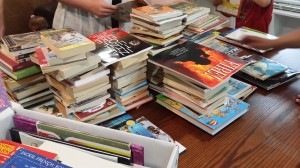 More than 2,000 books donated!