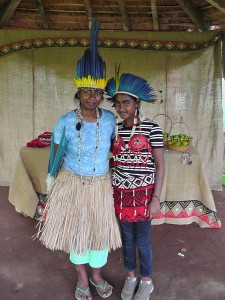 z sonya and raina in terena tribe outfits